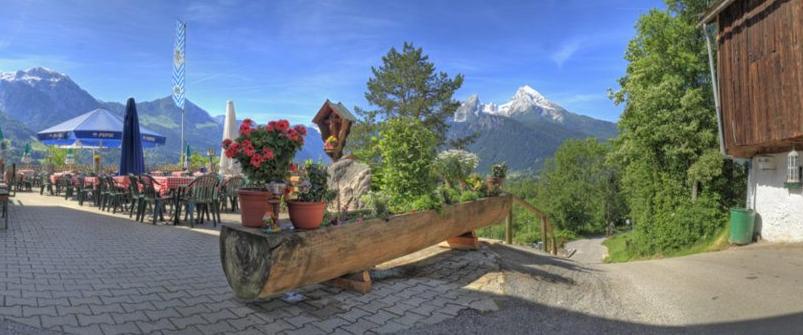 Ausblick Berggasthof Oberkälberstein
